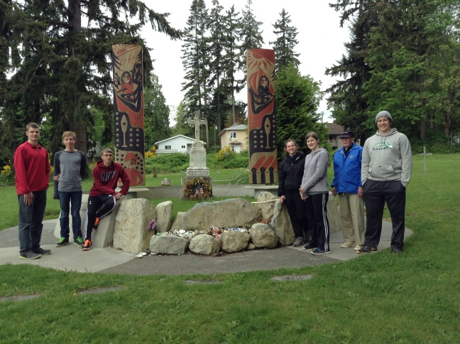 Visiting Chief Seattle Memorial