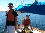 Sea Scout Ben and Skipper Steve
