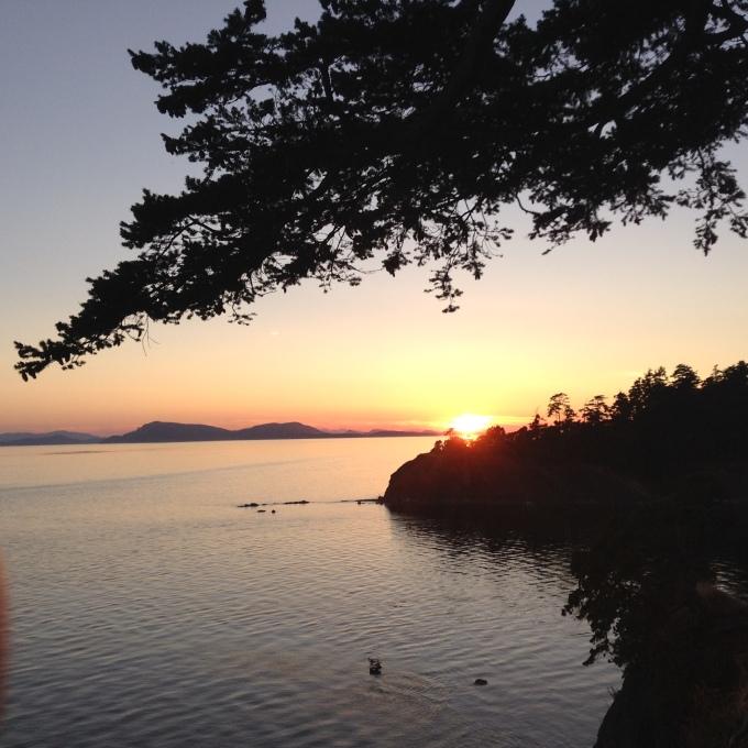 Lovely Sunset on Long Cruise
