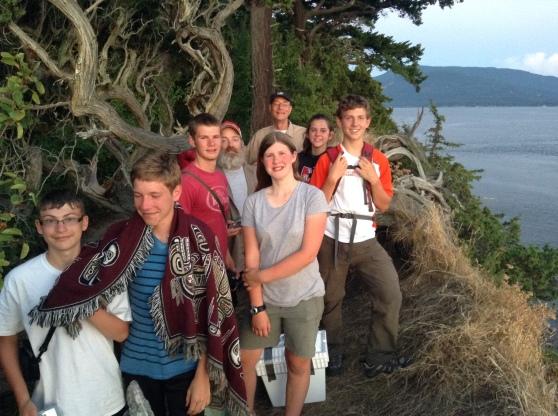 Peak Crew Exploring Sucia