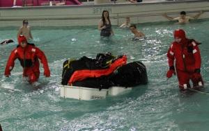 Firing a Life Raft