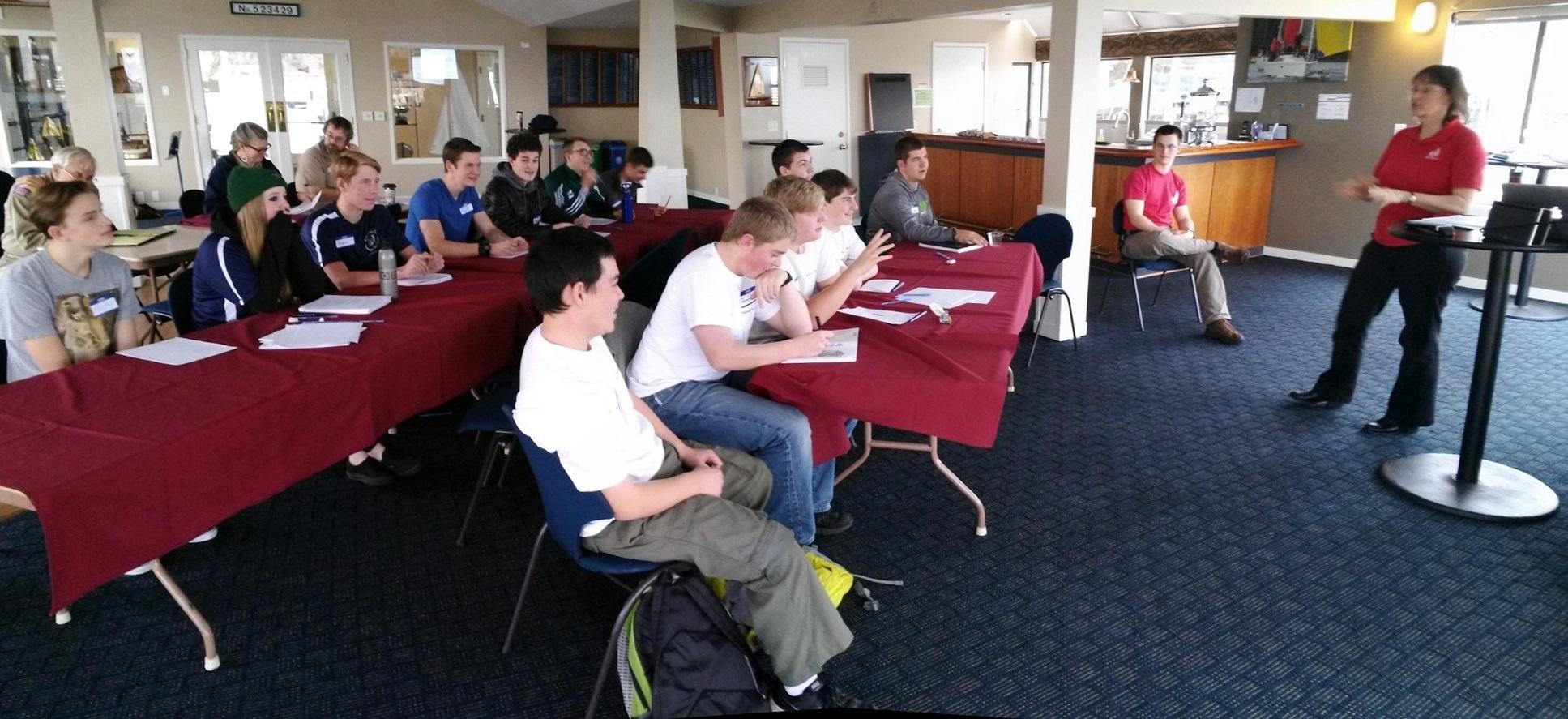 Corinthan Yacht Club Hosts Sea Scout Ship Yankee Clipper