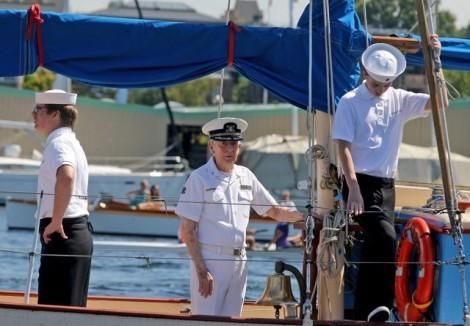 Seattle Sea Scouts know Mr. Kelly